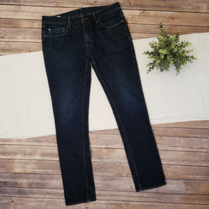 Banana Republic Skinny Dark Denim Jeans 33 x 32